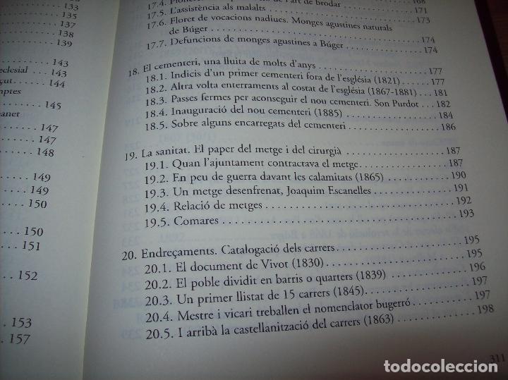Libros de segunda mano: BÚGER EN EL SEGLE XIX. JOAN PONS. AJUNTAMENT DE BURGOS.LLEONARD MUNTANER. 1ª EDICIÓ 2012 . MALLORCA. - Foto 26 - 127686951