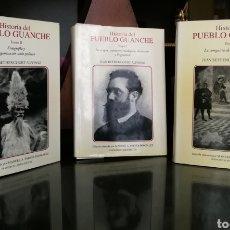 Libros de segunda mano: HISTORIA DEL PUEBLO GUANCHE, TOMO I, II Y III. LIBROS SEGUNDA MANO NUEVOS.TENERIFE. CANARIAS.. Lote 127789486