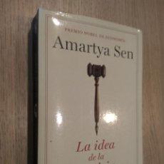 Libros de segunda mano: LA IDEA DE LA JUSTICIA. AMARTYA SEN. 2010. TAURUS.. Lote 127938519