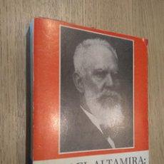 Libros de segunda mano: RAFAEL ALTAMIRA. UN MODELO DE REGENERACIONISMO EDUCATIVO. IRENE PALACIO. Lote 127939539