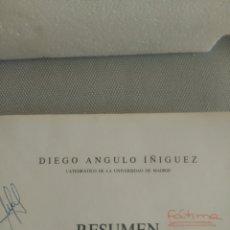 Libros de segunda mano: RESUMEN DE HISTORIA DEL ARTE. DIEGO ÁNGULO ÍÑIGUEZ. Lote 127961487