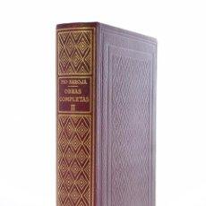 Libros de segunda mano: OBRAS COMPLETAS, II. LA VIDA FANTÁSTICA / LA RAZA / LAS CIUDADES / EL MAR - PÍO BAROJA (1947). Lote 127982416