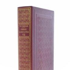 Libros de segunda mano: OBRAS COMPLETAS, VII. PÍO BAROJA - BIBLIOTECA NUEVA (1949). Lote 127982436