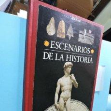 Libros de segunda mano: ESCENARIOS DE LA HISTORIA. ED. AGUILAR. BARCELONA 1995. Lote 127998575