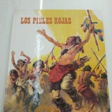 Libros de segunda mano: LOS PIELES ROJAS J. SOLER CARNICER EDITORIAL RM 1977 ILUSTRADO GRAN FORMATO INDIOS NORTEAMERICA. Lote 128005454