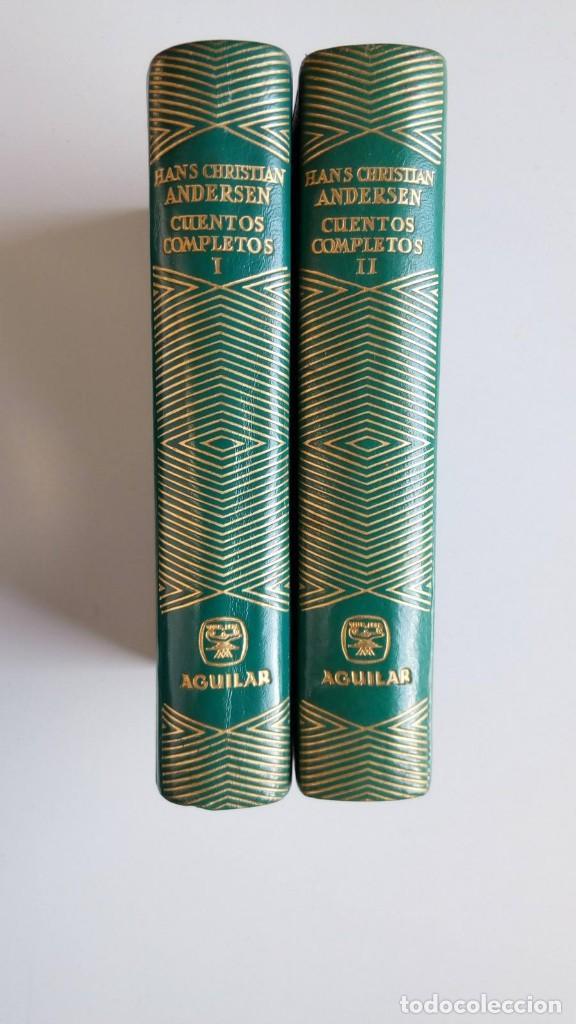 JOYA ANDERSEN, CUENTOS, UNICOS EN PIEL VERDE, AGUILAR (Libros de Segunda Mano (posteriores a 1936) - Literatura - Otros)
