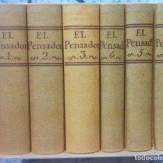 Libros de segunda mano: JOSE CLAVIJO Y FAJARDO. EL PENSADOR 1762-1767. 1999. Lote 128036651