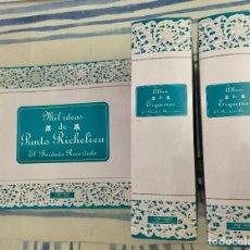 Libros de segunda mano: MIL IDEAS DE PUNTO RICHELIEU. EL BORDADO RECORTADO.. Lote 128066535