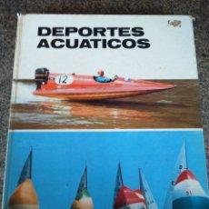Libros de segunda mano: DEPORTES ACUATICOS -- PLAZA & JANES 1974 --. Lote 128082211