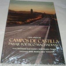 Libros de segunda mano: CIEN AÑOS DE CAMPOS DE CASTILLA PAISAJE POETICO MACHADIANO DE ANTONIO MACHADO Y JOSE MARIA TRIPER. Lote 128082935