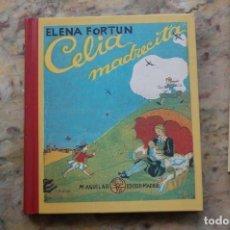 Libros de segunda mano: CELIA MADRECITA POR ELENA FORTUN. FACSIMIL DE 1942. EDIT. AGUILAR. 2004. TAPA DURA.. Lote 128114715