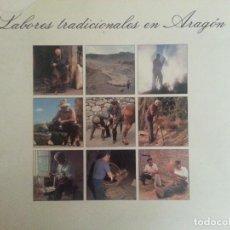 Libros de segunda mano: LABORES TRADICIONALES EN ARAGÓN, 2 - EUGENIO MONESMA - 1990 - ETNOLOGÍA, ETNOGRAFÍA - MUY ILUSTRADO. Lote 128115679