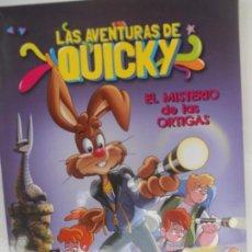 Libri di seconda mano: LAS AVENTURAS DE QUICKY - EL MISTERIO DE LAS ORTIGAS. . Lote 128117703