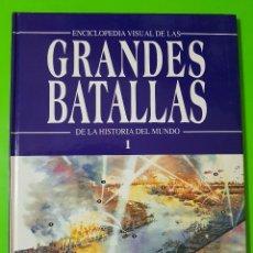 Libros de segunda mano: GRANDES BATALLAS DE LA HISTORIA DEL MUNDO Nº 1 DEL AÑO 1994 DE EDITORIAL ROMBO. Lote 128186919