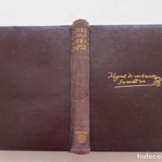 Libros de segunda mano: MIGUEL DE CERVANTES SAAVEDRA OBRAS COMPLETAS. RM86979. Lote 128278963