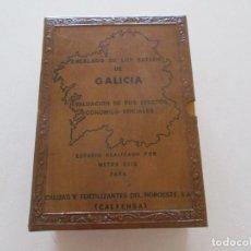 Libros de segunda mano: ENCALADO DE LOS SUELOS DE GALICIA. EVALUACIÓN DE SUS EFECTOS ECONÓMICO-SOCIALES. RM87014. Lote 128285283