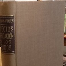Libros de segunda mano: DEFECTOS DE FABRICACIÓN EN LOS TEJIDOS. Lote 128331143