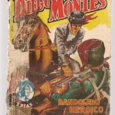 Libros de segunda mano: DIEGO MONTES. LOTE DE 6 NROS. DEL 1 AL 6. (VER FOTOS ADICIONAL). ARNALDO VISCONTI. BRUGUERA.(P/C31). Lote 128375367