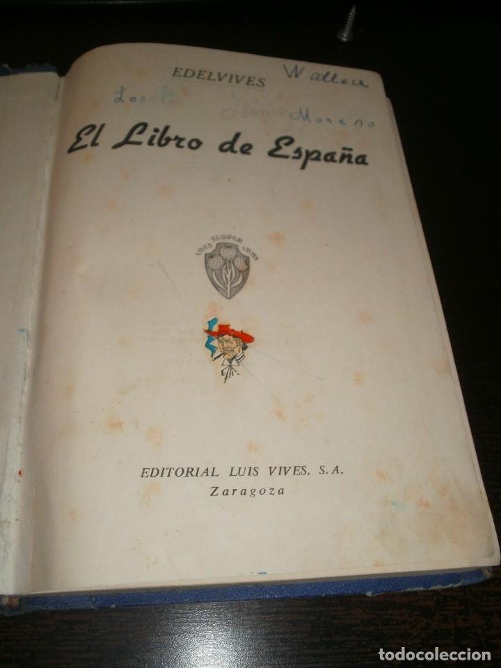 Libros de segunda mano: El libro de España. Editorial Vives. 1958 - Foto 2 - 128426047
