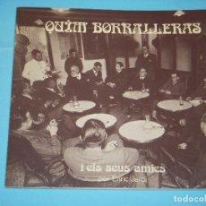 Gebrauchte Bücher - QUIM BORRALLERAS I ELS SEUS AMICS - ENRIC JARDI - AJUNTAMENT DE BARCELONA, 1979, 1ª EDICIO - 128433775