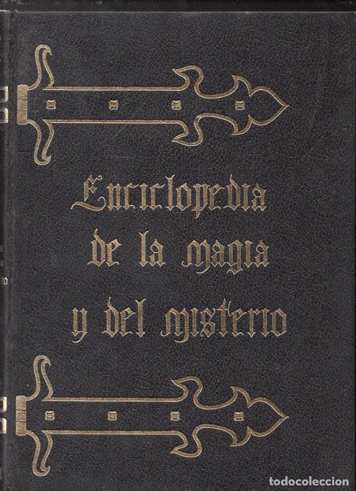 ENCICLOPEDIA DE LA MAGIA Y EL MISTERIO - TRES TOMOS (MATEU, 1975) OBRA COMPLETA (Libros de Segunda Mano - Parapsicología y Esoterismo - Otros)
