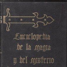 Libros de segunda mano: ENCICLOPEDIA DE LA MAGIA Y EL MISTERIO - TRES TOMOS (MATEU, 1975) OBRA COMPLETA. Lote 128449736