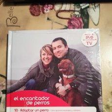 Libros de segunda mano: ADOPTAR UN PERRO - EL ENCANTADOR DE PERROS Nº 18 - CON DVD DEL PROGRAMA - PRECINTADO. Lote 128472867