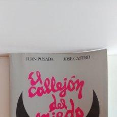 Libros de segunda mano: LIBRO EL CALLEJÓN DEL MIEDO TEMPORADA 82. Lote 128574318