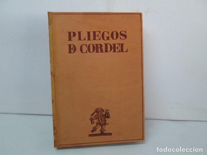 Libros de segunda mano: PLIEGOS DE CORDEL. PIO BAROJA. JULIO CARO BAROJA. EJEMPLAR NUM XI. BANCO IBERICO 1969. VER FOTOS - Foto 3 - 128575023