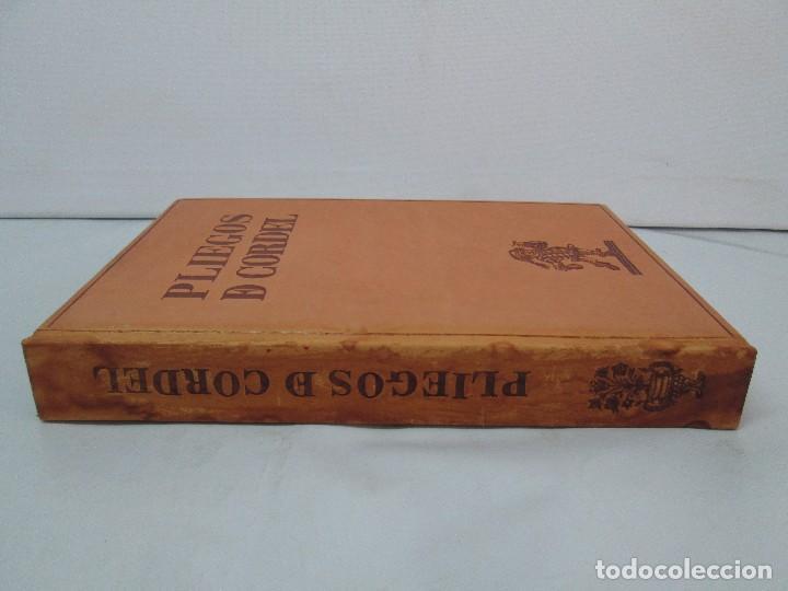 Libros de segunda mano: PLIEGOS DE CORDEL. PIO BAROJA. JULIO CARO BAROJA. EJEMPLAR NUM XI. BANCO IBERICO 1969. VER FOTOS - Foto 4 - 128575023