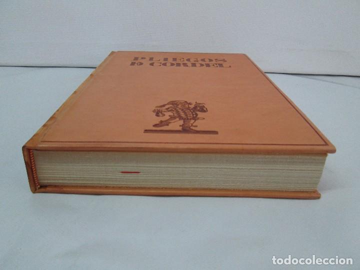 Libros de segunda mano: PLIEGOS DE CORDEL. PIO BAROJA. JULIO CARO BAROJA. EJEMPLAR NUM XI. BANCO IBERICO 1969. VER FOTOS - Foto 5 - 128575023