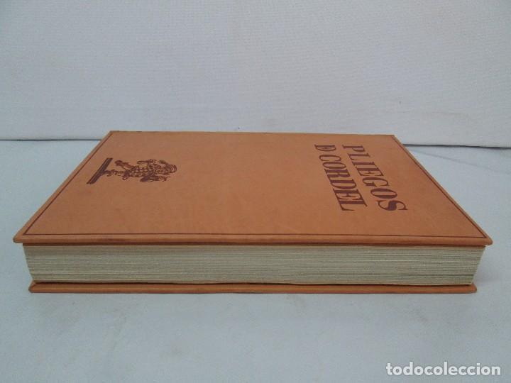 Libros de segunda mano: PLIEGOS DE CORDEL. PIO BAROJA. JULIO CARO BAROJA. EJEMPLAR NUM XI. BANCO IBERICO 1969. VER FOTOS - Foto 6 - 128575023