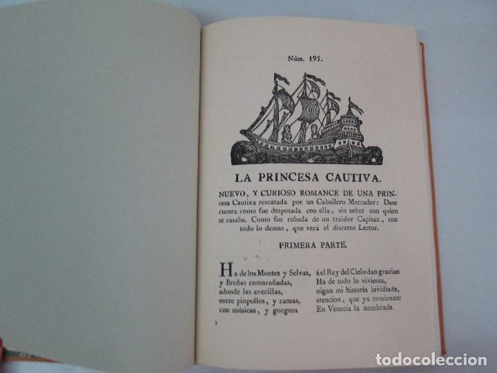 Libros de segunda mano: PLIEGOS DE CORDEL. PIO BAROJA. JULIO CARO BAROJA. EJEMPLAR NUM XI. BANCO IBERICO 1969. VER FOTOS - Foto 10 - 128575023