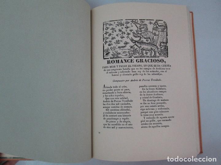 Libros de segunda mano: PLIEGOS DE CORDEL. PIO BAROJA. JULIO CARO BAROJA. EJEMPLAR NUM XI. BANCO IBERICO 1969. VER FOTOS - Foto 11 - 128575023