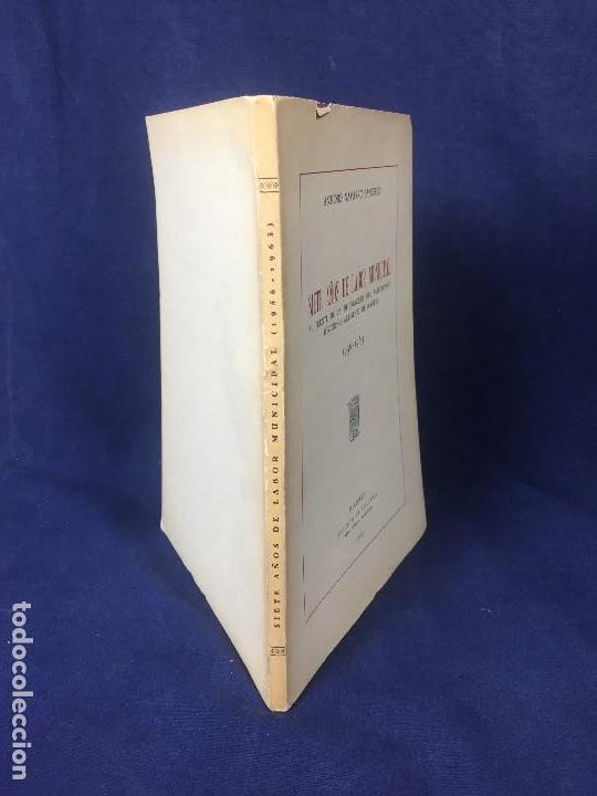 Libros de segunda mano: antonio navarro sanjurjo Madrid patrimonio historico artistico siete años de labor municipal 1965 - Foto 2 - 128609671