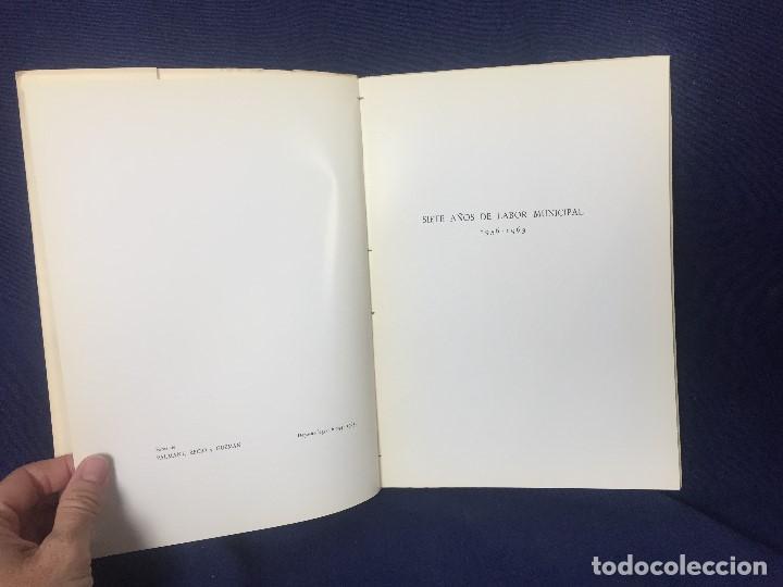 Libros de segunda mano: antonio navarro sanjurjo Madrid patrimonio historico artistico siete años de labor municipal 1965 - Foto 3 - 128609671