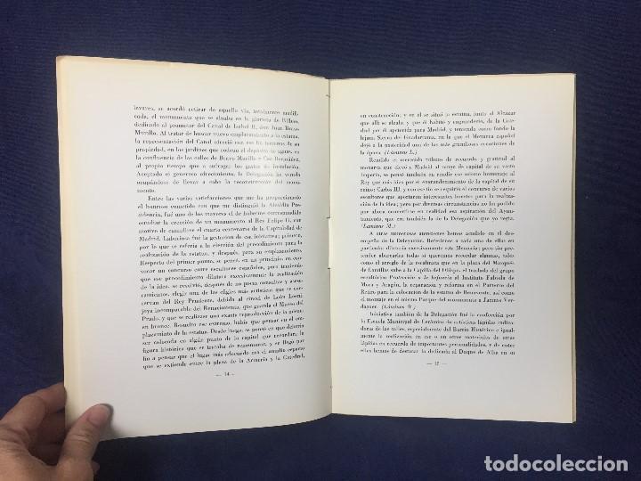 Libros de segunda mano: antonio navarro sanjurjo Madrid patrimonio historico artistico siete años de labor municipal 1965 - Foto 5 - 128609671
