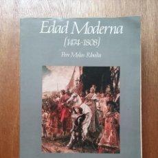 Libros de segunda mano: EDAD MODERNA 1474 1808, PERE MOLAS RIBALTA, MANUAL DE HISTORIA DE ESPAÑA 3, ESPASA CALPE, 1988. Lote 128631683