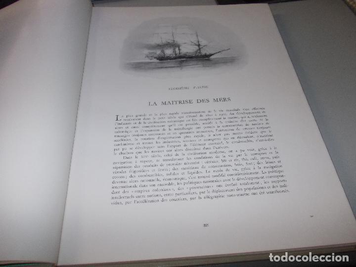 Libros de segunda mano: Histoire de la Marine, tomo II. en francés, muy ilustrado. Libro de grandes dimensiones 39x30x3 cm. - Foto 5 - 128657743