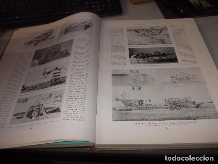 Libros de segunda mano: Histoire de la Marine, tomo II. en francés, muy ilustrado. Libro de grandes dimensiones 39x30x3 cm. - Foto 6 - 128657743