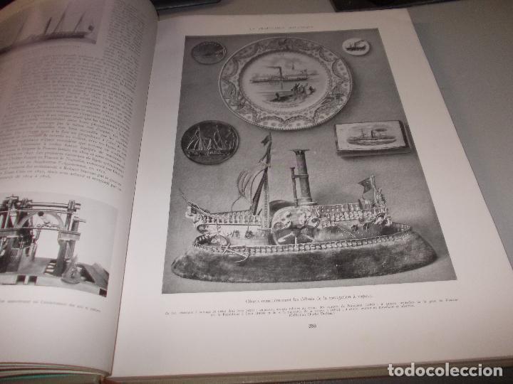 Libros de segunda mano: Histoire de la Marine, tomo II. en francés, muy ilustrado. Libro de grandes dimensiones 39x30x3 cm. - Foto 8 - 128657743