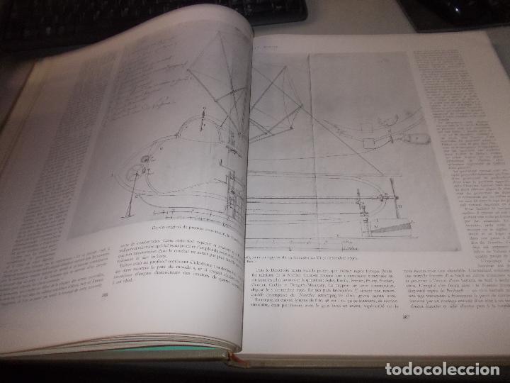 Libros de segunda mano: Histoire de la Marine, tomo II. en francés, muy ilustrado. Libro de grandes dimensiones 39x30x3 cm. - Foto 9 - 128657743