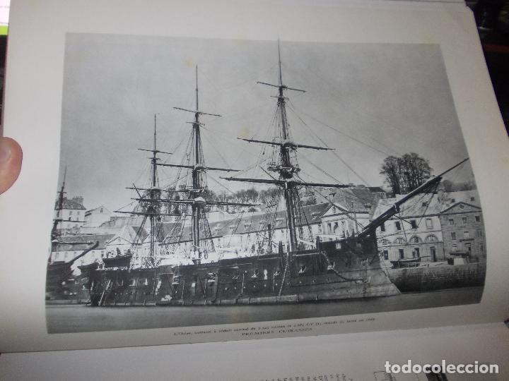 Libros de segunda mano: Histoire de la Marine, tomo II. en francés, muy ilustrado. Libro de grandes dimensiones 39x30x3 cm. - Foto 10 - 128657743