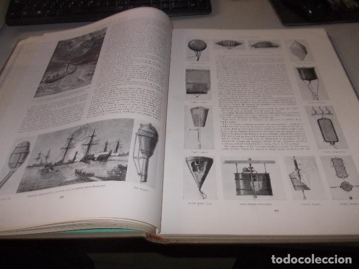 Libros de segunda mano: Histoire de la Marine, tomo II. en francés, muy ilustrado. Libro de grandes dimensiones 39x30x3 cm. - Foto 12 - 128657743