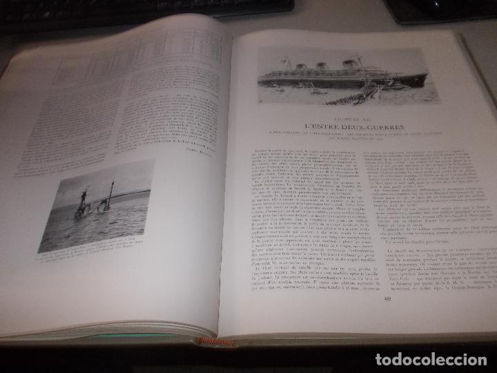 Libros de segunda mano: Histoire de la Marine, tomo II. en francés, muy ilustrado. Libro de grandes dimensiones 39x30x3 cm. - Foto 13 - 128657743