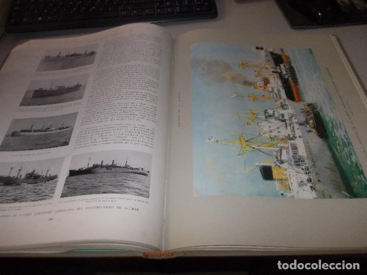 Libros de segunda mano: Histoire de la Marine, tomo II. en francés, muy ilustrado. Libro de grandes dimensiones 39x30x3 cm. - Foto 15 - 128657743