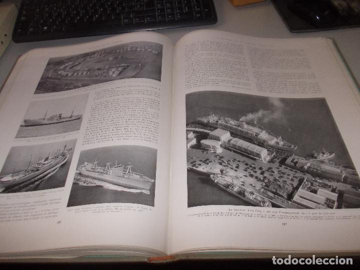 Libros de segunda mano: Histoire de la Marine, tomo II. en francés, muy ilustrado. Libro de grandes dimensiones 39x30x3 cm. - Foto 17 - 128657743