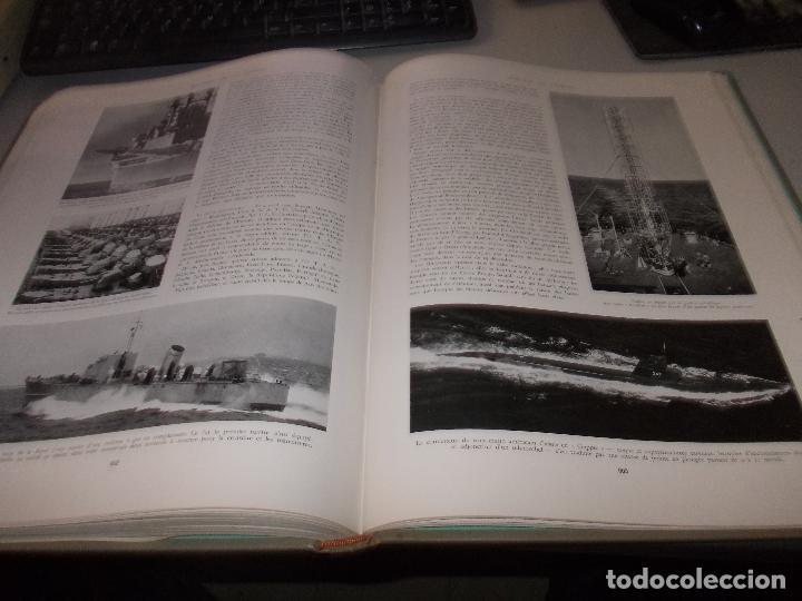 Libros de segunda mano: Histoire de la Marine, tomo II. en francés, muy ilustrado. Libro de grandes dimensiones 39x30x3 cm. - Foto 18 - 128657743