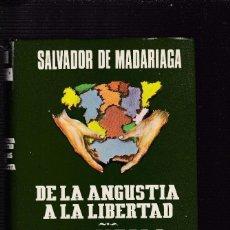 Libros de segunda mano: SALVADOR DE MADARIAGA - MEMORIAS DE UN FEDERALISTA....ESPASA/CALPE 1982. Lote 128661027