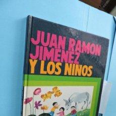 Libros de segunda mano: JUAN RAMÓN JIMÉNEZ Y LOS NIÑOS. COL. GRANDES HOMBRES. ED. EVEREST. LEÓN 1984. 4ª EDICIÓN. Lote 128688155